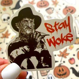 🎃 👻 10/$10 Halloween Sticker Freddy Krueger